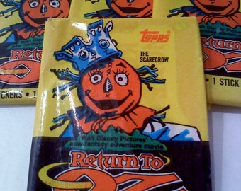 Return to Oz Vintage Trading Cards- THE SCARECROW