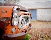 Rusty Truck Road Trip - Rural Fine Art Photograph