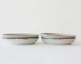 Vintage Dansk Brown Mist Ceramic Coasters