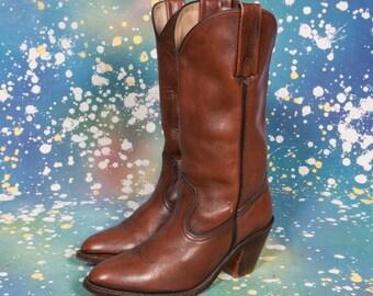 FRYE Women's  COWBOY Boots Size 7 .5 B