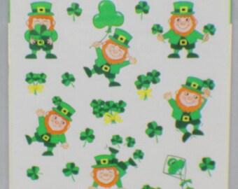 Hallmark Cards Ambassador Lucky Irish Leprechaun and Shamrocks