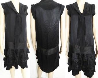 Vintage 1920s Dress // 20s Dress // Roaring 20s Dress //Flapper Dress//Art Nouveau