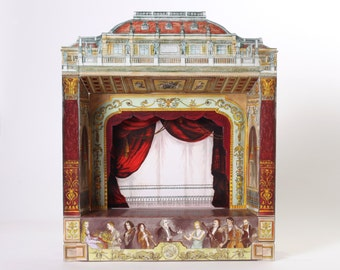 For Charles Wittreich:  Paper theater (Opera or Eclectic)