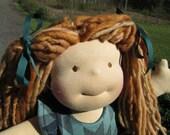 "RESERVED Custom Waldorf Girl Doll for Jessica - 15"" Girl"
