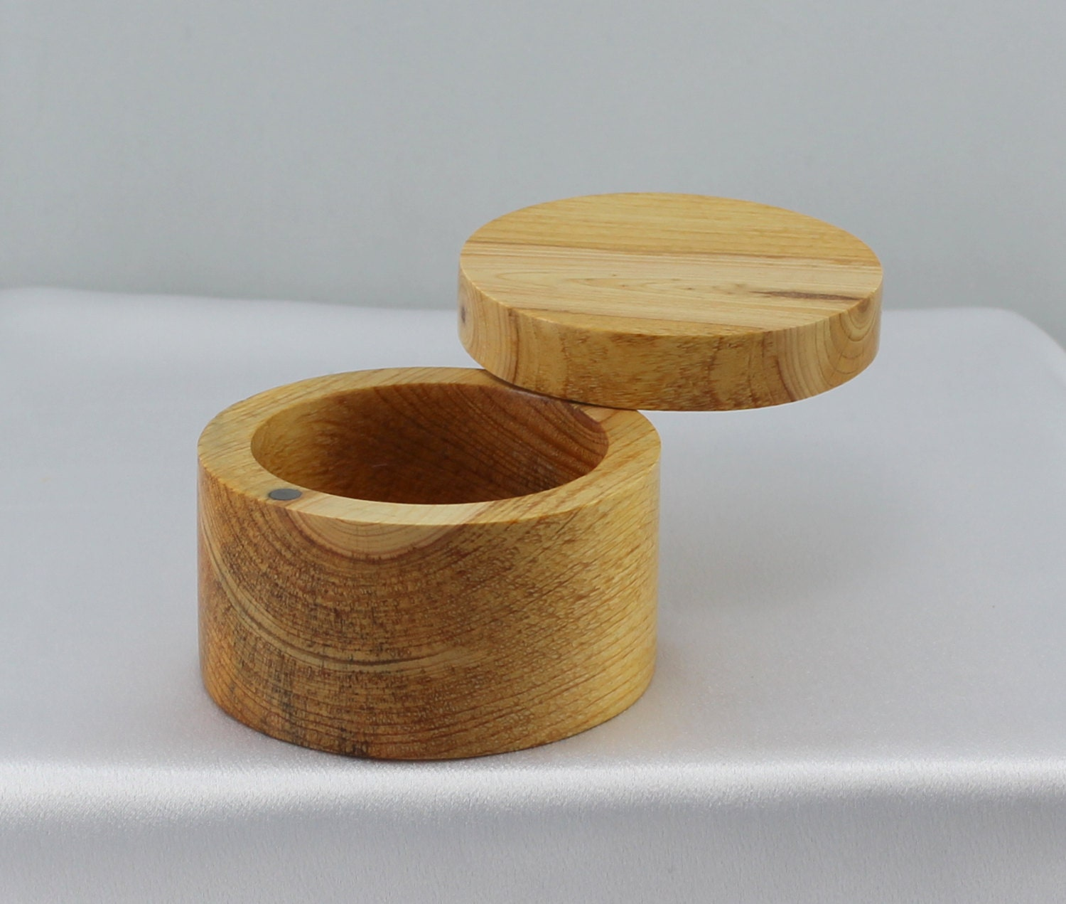 Wooden Dining Bowls ~ Wooden salt cellar kitchen and dining hand turned bowl
