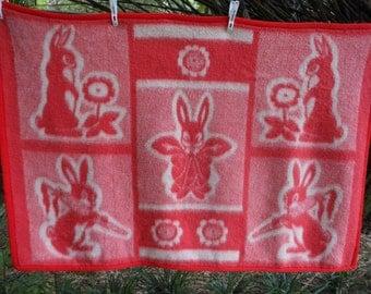 Baby Blanket Russia Wool Blend