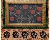 Carriage House Samplings: Annie's Garden - Cross Stitch Pattern
