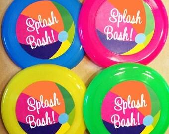 Splash Bash Water Birthday Party Invitation Girl And Boy