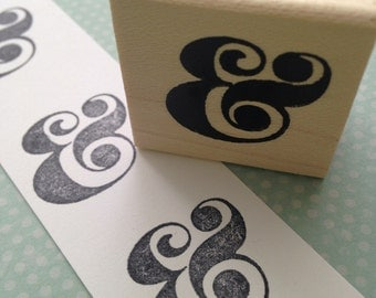 Ampersand  Rubber Stamp 2669