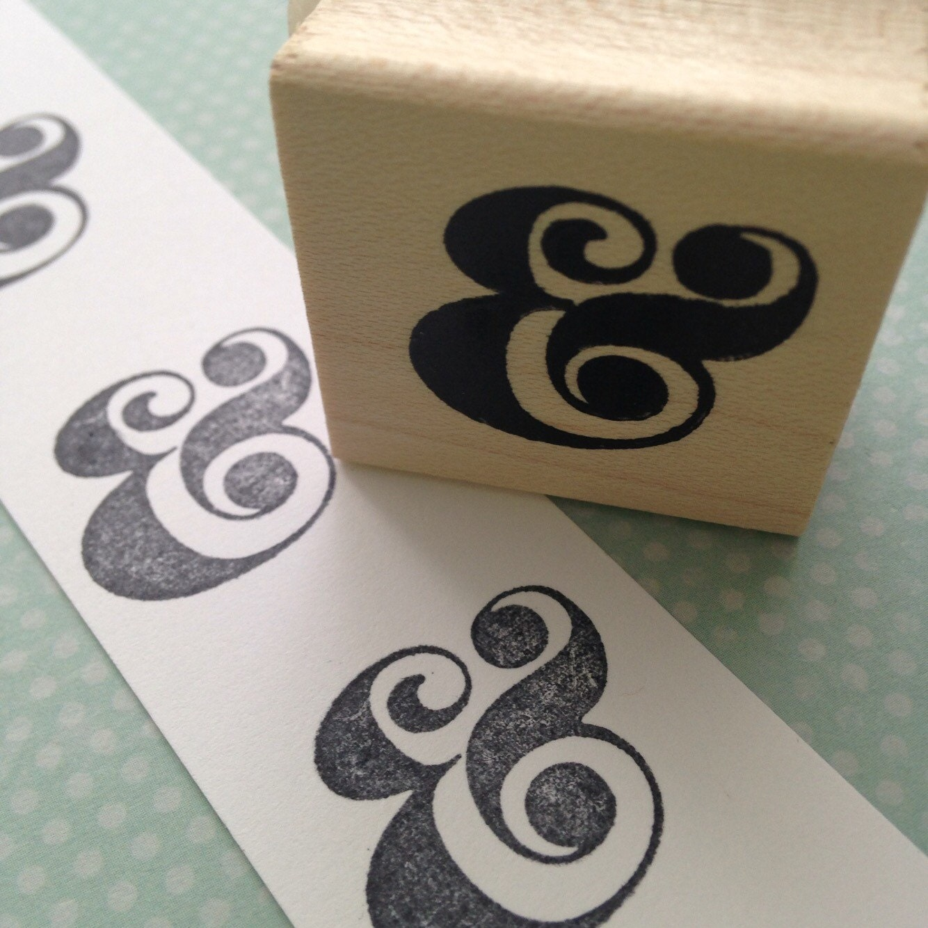 Ampersand rubber stamp 2669 from 100proofpress on etsy studio for Ampersand decoration etsy