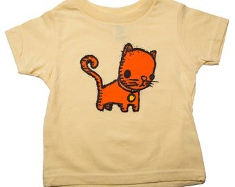 kitty toddler shirt, cat t-shirt, kitten kid's t-shirt, kid's gift, cute cat shirt,