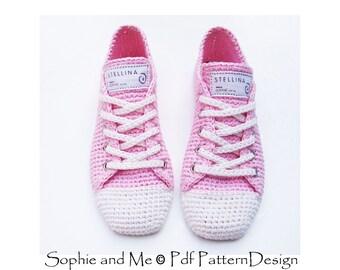 Sneaker Classics Crochet Pattern - Instant Download Pdf