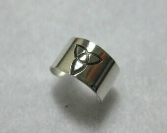 Handmade Sterling Silver Celtic Ear Cuff