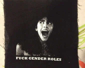 HORROR PATCH Angela from Sleepaway Camp anti gender roles patch sexism sucks its 2016 get with the program people