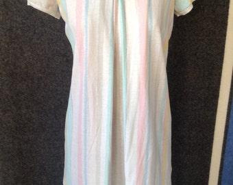 1980's ladies long cotton t shirt