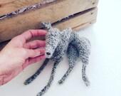Lurcher knitting pattern