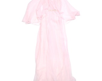 60s Light Pink Gown - Size M