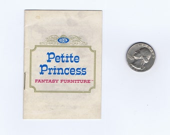 Antique Vintage Petite Princess Dollhouse Furniture Miniature Catalog Toy Paper Ephemera