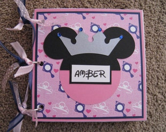 Disney Autograph Book - Princess - Bibbidi Bobbidi Boutique - Photos