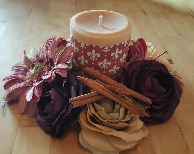 Natural Cinnamon Organic Soy Candle
