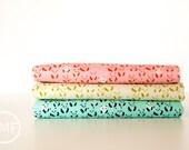 Paper Bandana Panda Bebe Fat Quarter Bundle, 3 Pieces, Alexia Marcelle Abegg, Cotton+Steel, RJR Fabrics, 100% Cotton Fabric, 4018