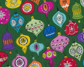 Wonderland Baubles, The Henley Studio for Andover Fabrics, 100% Cotton Fabric, TP-1464-G