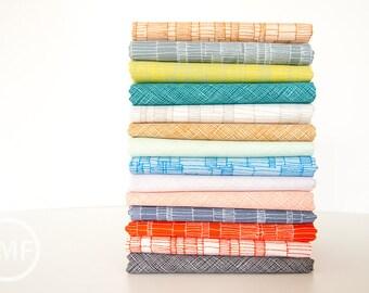 Carkai Coordinates Half Yard Bundle, 14 Pieces, Carolyn Friedlander, Robert Kaufman Fabrics, 100% Cotton Fabric, AFR