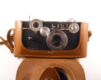 Argus C3 in Leather Case Camera Vintage