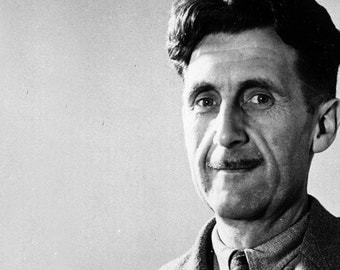 George Orwell, small shirt