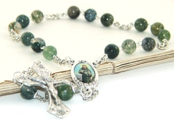 St Francis of Assisi Chaplet - Patron Saint of Animals, Pets