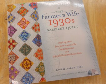 The Farmer's Wife 1930s Sampler Quilt book by Laurie Aaron Hird