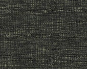 Streamlined Solid Two Tone Weave Upholstery Fabric - Hand-woven Appearance - Light and Airy - Color: Lido Steel - per yard