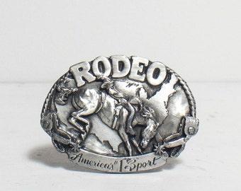 1983 Siskiyou Rodeo Belt Buckle