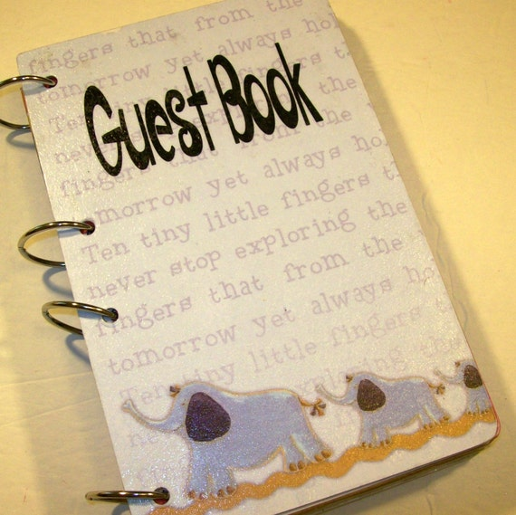 baby shower guest book sign in book baby shower mom advice book