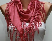 Mother's day Gift,Amaranth Pashmina Scarf,Spring Accessories,Cowl Scarf Gift Ideas For Her Women Fashion Accessories Christmas Gift