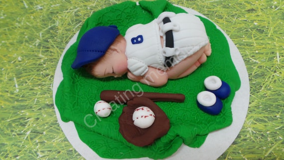 Boston Baby Baseball Player Baby For Baby Shower Cakes You
