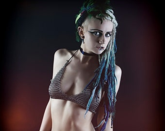 Custom Made Chainmail Bikini Top