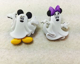 Disney Halloween Earrings, Mickey Mouse and Minnie Mouse Earring, Halloween  Earrings, Disney Earrings, Ghost Earrings