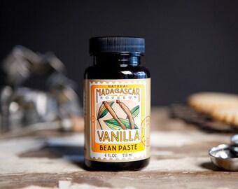 Bean Paste Lorann Vanilla Premium Madagascar Flavoring Natural Bakery Flavor 4 Fl. Oz. Jar
