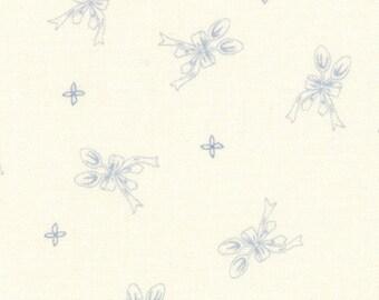 Ooh La La Silver Spoon by Bunny Hill - Cream Blue Spoon - Moda 2834 13
