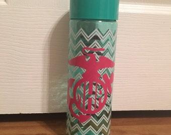 Marine Wife Water Bottle Tumbler