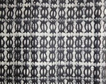 Full Sale African Print Batik Fabric (sold per 6 yards)