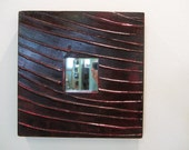 RESERVED TO: francesca - Wall Materic Mirror