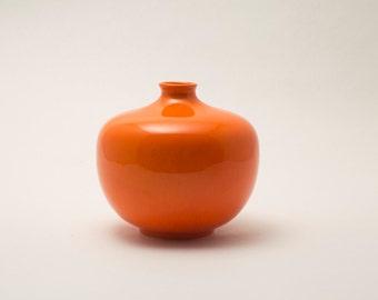 Tangerine Bud Vase