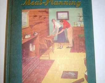The Homemaker's Encyclopedia Hardcover, Food-Buying and Meal-Planning