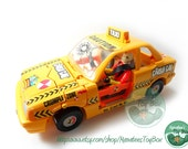 Crash Dummies Crash Cab 1990s Toy by Tyco (Figure Included) JD