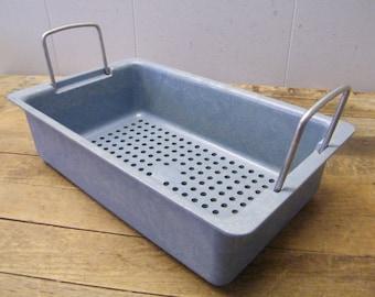 Vintage Plastic Instrument Sterilization Storage Tote Tray