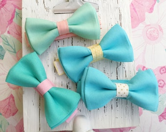 Boy's Easter Tie, Easter Ties for Boys, Pastel Ties, Pink and Mint Tie, Mint and Blush Tie, Peach and Mint Tie