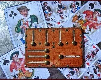 Whist Marker, Antique Card Marker, 1800's Games Marker, Original Vintage Card Game Marker, Antique Cards,
