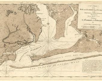 Pensacola Bay – 1780